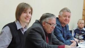 Члены жюри литературного конкурса