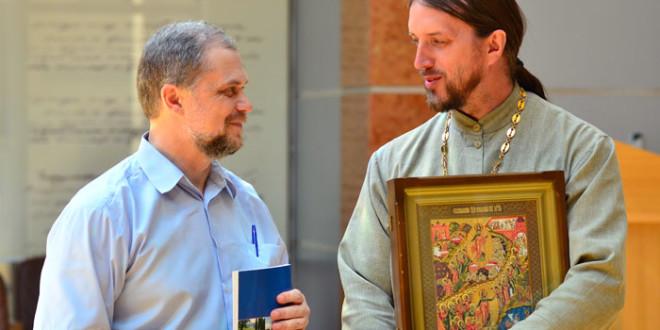 Презентация книги «Святые оренбургские места»