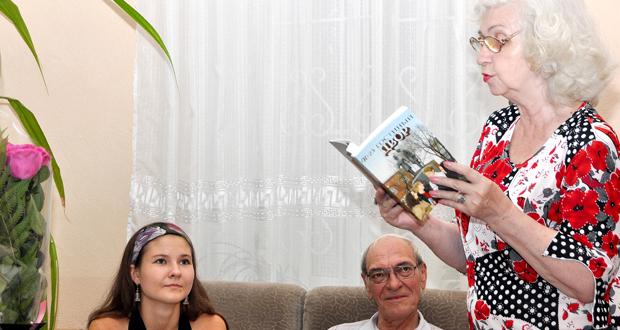 Вернуться в детство через рифму (презентация поэтического сборника Анастасии Кольцовой в областном Доме литераторов)
