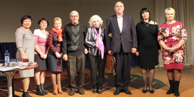 «На крыльях творчества» ( встреча с оренбургскими литераторами в п. Акбулак)