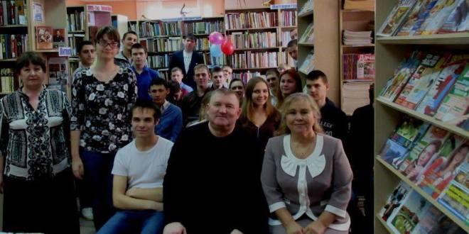 Творческая встреча с поэтом-пародистом Сергеем Салдаевым в П-Покровке