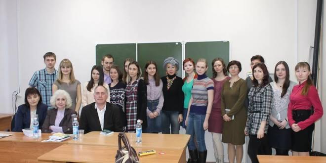 Встреча в Оренбургском госуниверситете