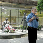 Выступление литератора Павла Рыкова