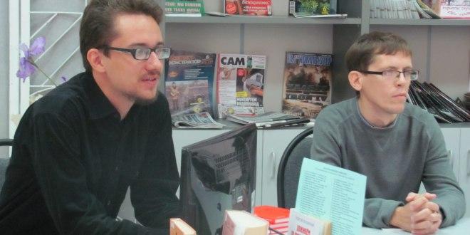 Встреча с молодыми оренбургскими писателями в областной библиотеке для молодёжи