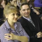 Поэты Елена Кубаевская и Вадим Бакулин готовятся к своему выходу