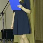 У микрофона Вита Куделина