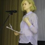 Выступает Ксения Кошелева