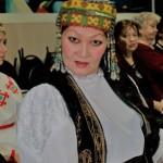 Каламкас Битымова готовится к выступлению