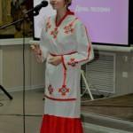 Мила Петрова исполняет чувашскую народную песню