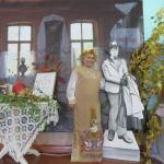 На фоне Есенина снимается кнИгиня Вера Филиппова