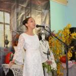 Выступает юная поэтесса Ксения Мотыженкова