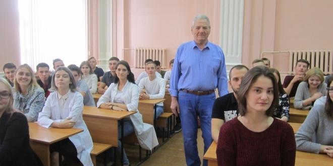 Творческая встреча Валерия Кузнецова со студентами ОГАУ