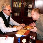 Сергей Хомутов и Сергей Салдаев (справа)