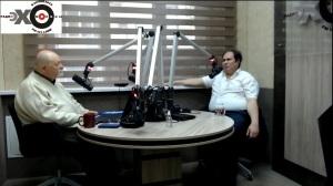Павел Рыков беседует с Максимом Замшевым
