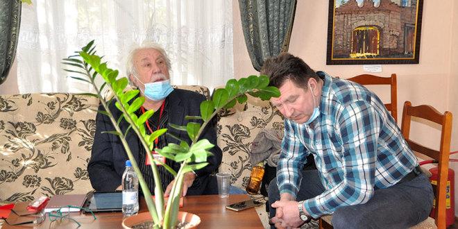 Семинар поэзии в Оренбургском Доме литераторов с Юрием Кублановским и Алексеем Остудиным