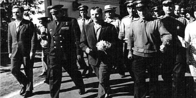 Букет Гагарину