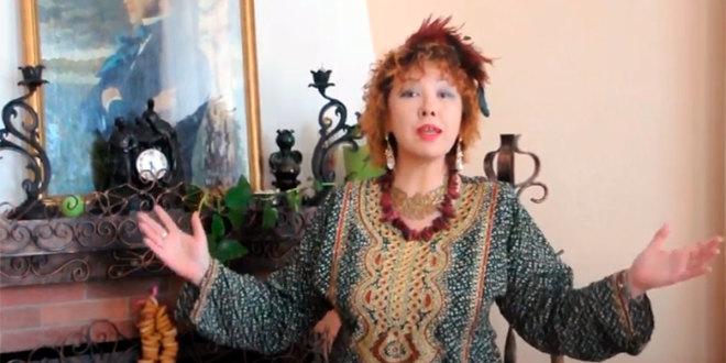 Видеопоэзия. Стихи на тему Масленицы читает поэтесса Диана Кан