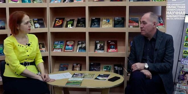 Видеоинтервью с поэтом Виталием Молчановым, посвященное Всемирному Дню поэзии