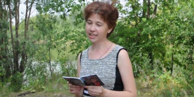 Видеопоэзия. Надежда Остроухова читает авторское стихотворение